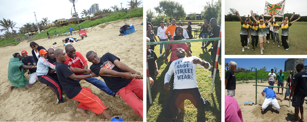 Beach Olympics - Services Combined - Team Building